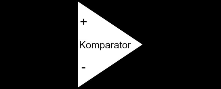 Abb. 2.2 - Komparatorschaltung zur PWM-Signal Erzeugung